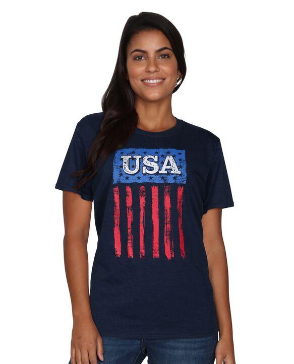USA Flag Art of Fruit T-Shirt USA