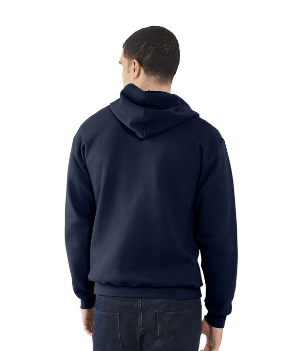 Men's EverSoft Fleece Crew Sweatshirt, Extended Sizes, 1 Pack Blue Cove