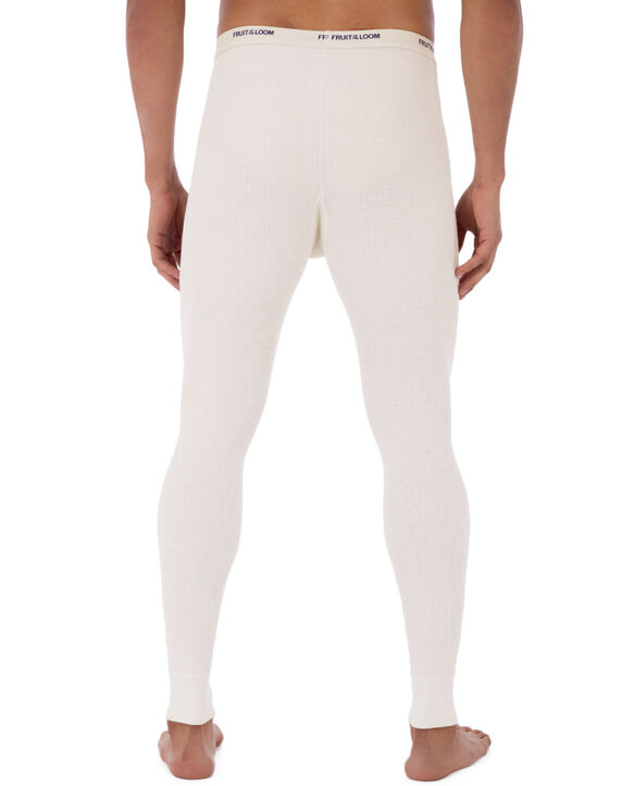 Fruit of the Loom Mens Premium Natural Touch Thermal Bottom