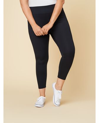 Women's Seek No Further Plus Size Wide Waistband Ponte Stretch Leggings