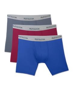 Men's EverLight Assorted Boxer Briefs, 3 Pack