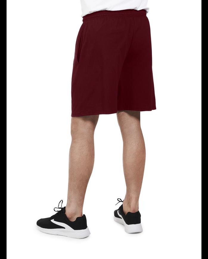 Men's Dual Defense UPF Jersey Shorts, 1 Pack Flute Wine