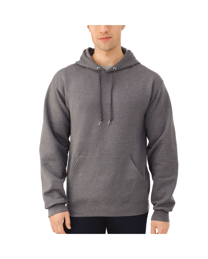 Men's Dual Defense EverSoft Pullover Hooded Sweatshirt, 1 Pack, Extended Sizes
