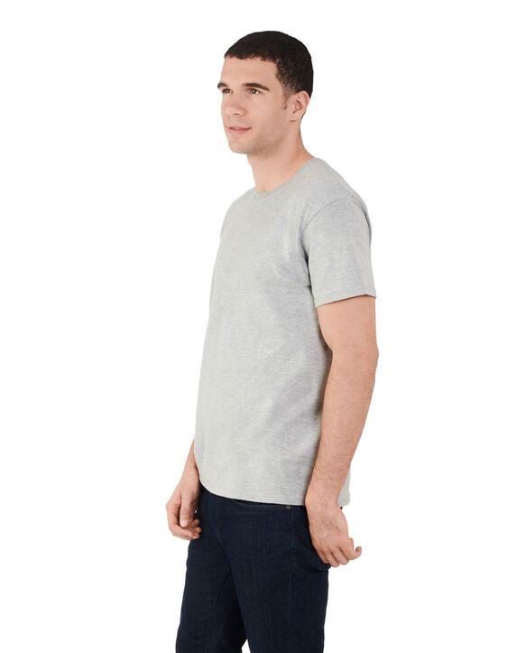 Men's 360 Breathe Crew T-Shirt, Extended Sizes Steel Gray Heather