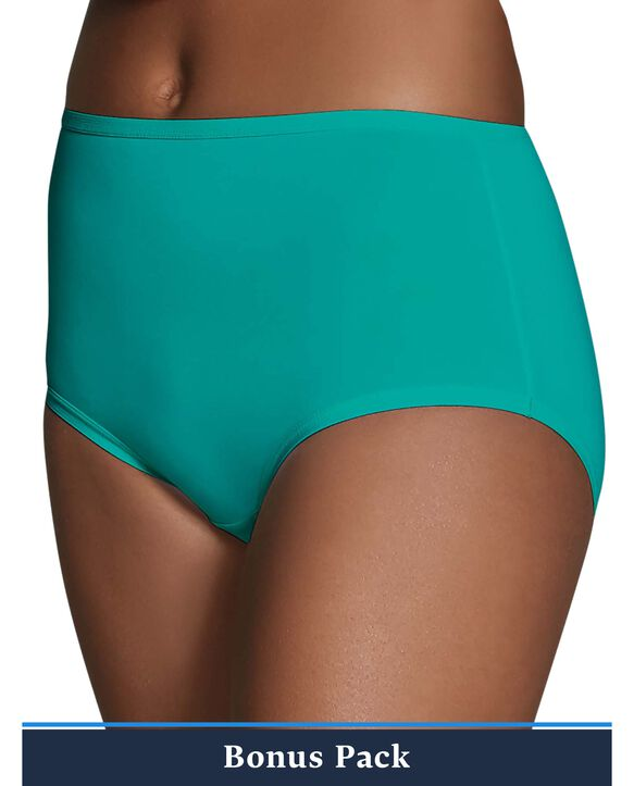 Women's Assorted Microfiber Brief Panty, 8 Pack ASSORTED