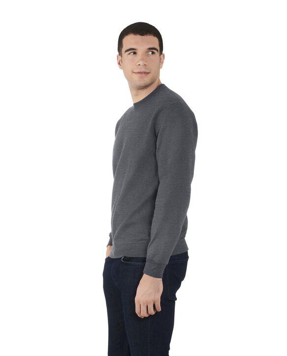 Men's EverSoft Fleece Crew Sweatshirt, 1 Pack Charcoal Heather