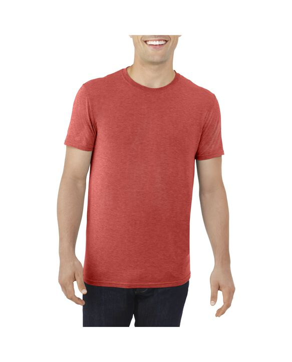 Big Men's EverLight™ Crew Neck T-Shirt, 1 Pack True Red