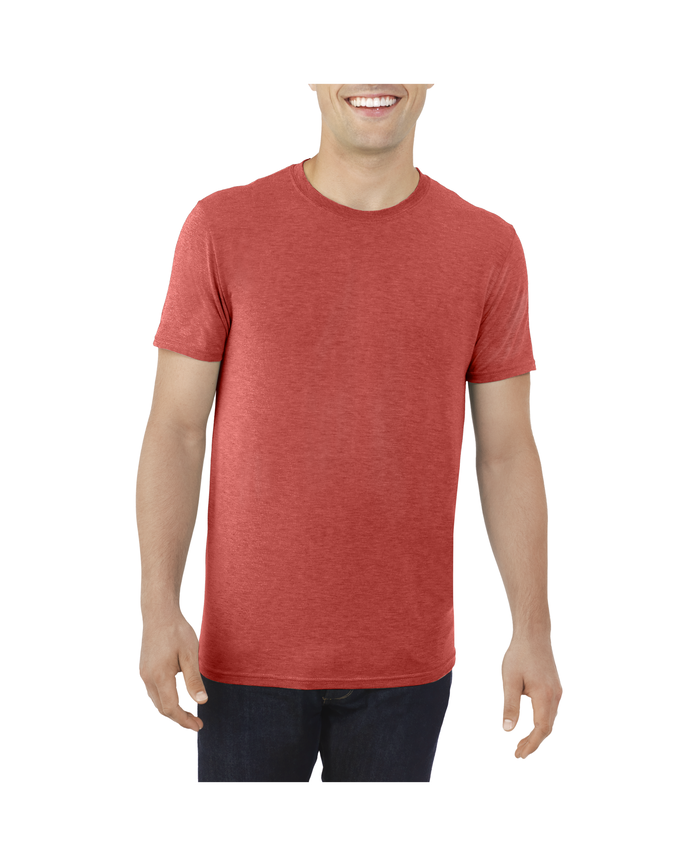 Big Men's EverLight™ Crew Neck T-Shirt, 1 Pack True Red