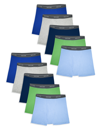 Toddler Boys' Assorted Boxer Briefs, 10 Pack