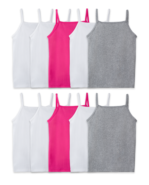 Girls' Spin Cami, 10 Pack