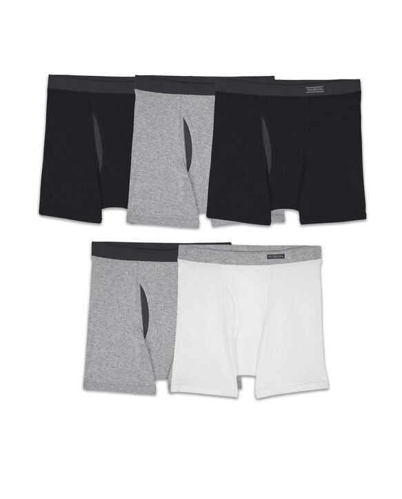 Boys CoolZone Assorted Boxer Brief, 5 Pack ASSORTED