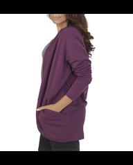Women's Essentials Cocoon Wrap Cardigan, 1 Pack Beet