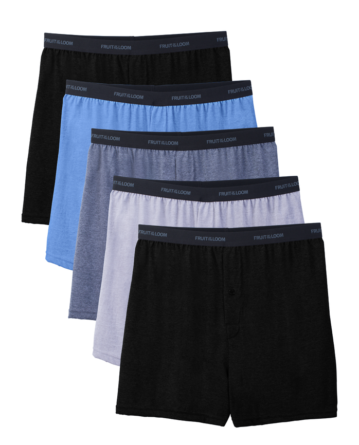 Men's Beyondsoft Knit Boxers, 5 Pack
