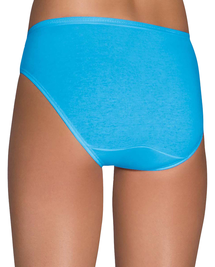 Women's Cotton Bikini Underwear, 12 Pack ASSORTED