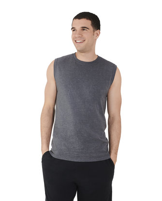 Men's Dual Defense UPF Sleeveless Muscle Shirt