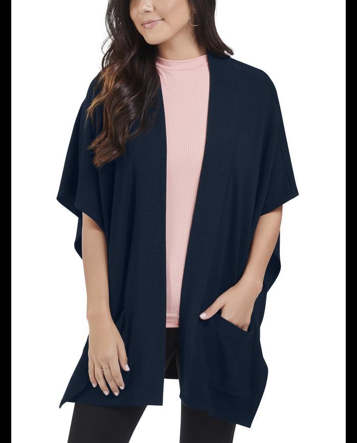 Women's Seek No Further® Blanket Cape Cardigan, 1 Pack