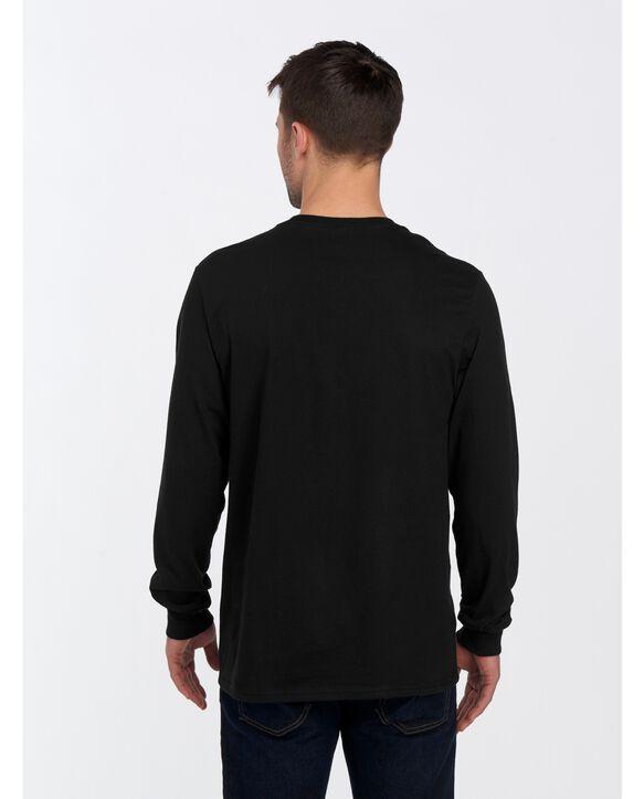 ICONIC Unisex Long-Sleeve T-Shirt Black