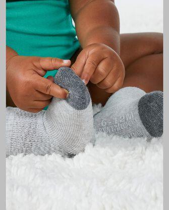 Baby Sock Gift Set, Breathable Crew Length Socks, 12 Pack