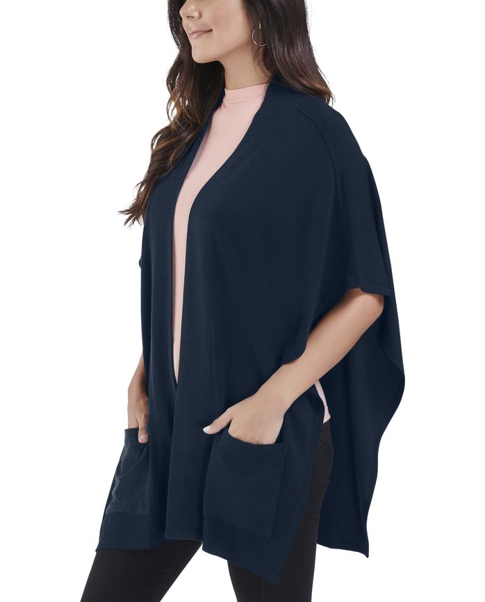Women's Seek No Further Blanket Cape Poncho Cardigan
