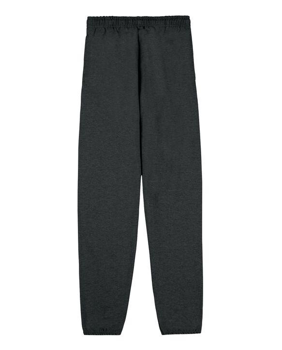 EverSoft Fleece Elastic Bottom Sweatpants, 1 Pack Black Heather