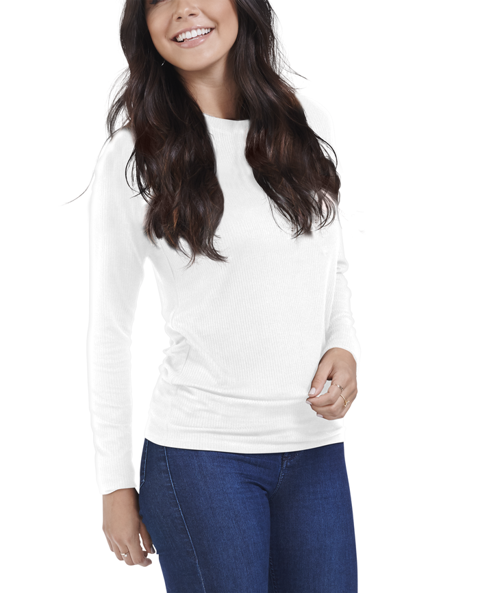Women's Seek No Further Long Sleeve Rib T-Shirt
