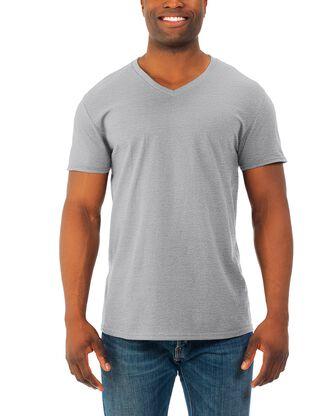 Men's Soft Short Sleeve V-Neck T-Shirt, 2 Pack