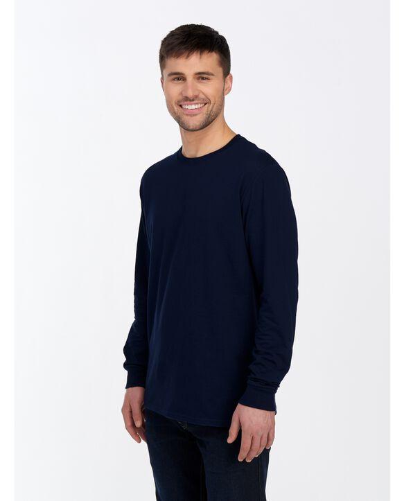 ICONIC Unisex Long-Sleeve T-Shirt Navy