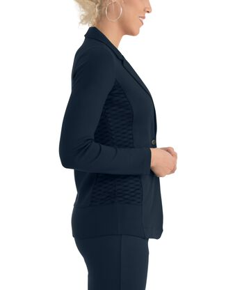Women's Seek No Further Long Sleeve Open Front Fitted Blazer
