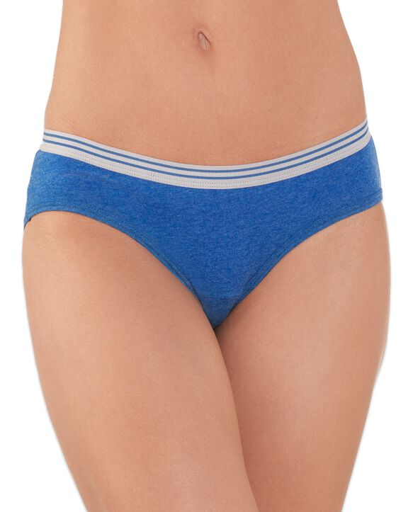 Women's Heather Low-Rise Hipster, 12 Pack ASSORTED