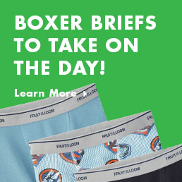 Boxer briefs to take on the day!