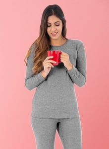 Thermals and Sleepwear Size Guide